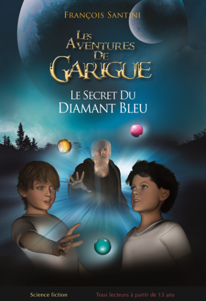 Livre audio les aventures de Garigue - audiobook