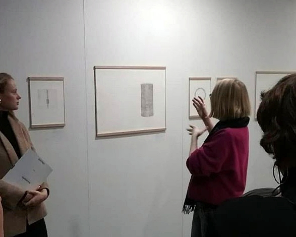 SALOON at Affordable Art Fair Hamburg with Isabel Deimel and Astrid Ehlers 2018