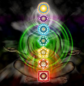 I sette 'chakra', vortici di energia di cui è composta la nostra coscienza.