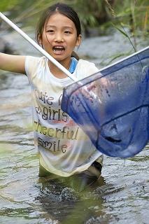 4年生:川を学ぶ  鶴見川の調査
