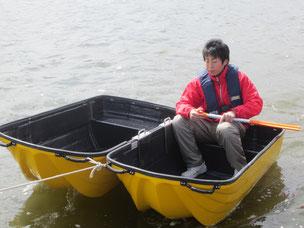 防災救助カプセルボート写真2