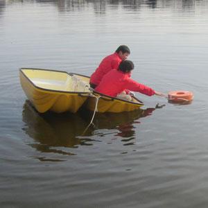 防災救助カプセルボート 浮力