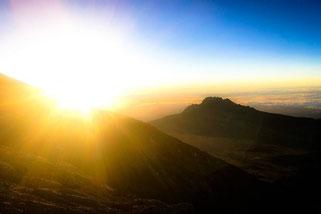 Kilimanjaro Lemosho Afrika Tansania Abenteuer Wanderung