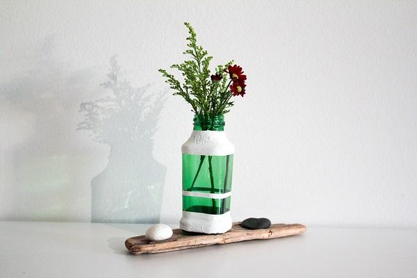 ↞ DIY Vasen aus alten Flaschen ↠