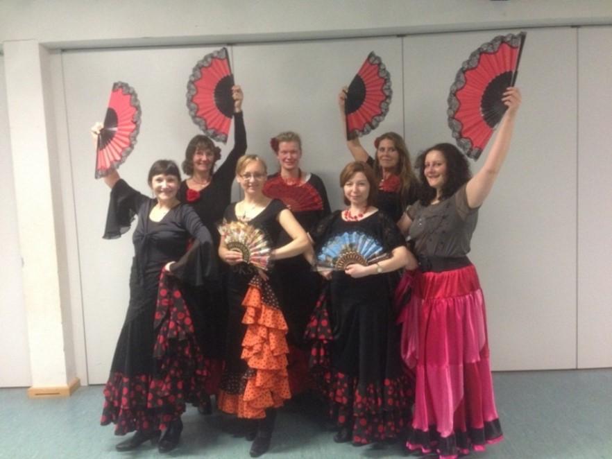 Flamenco Sevillanas Choreographie