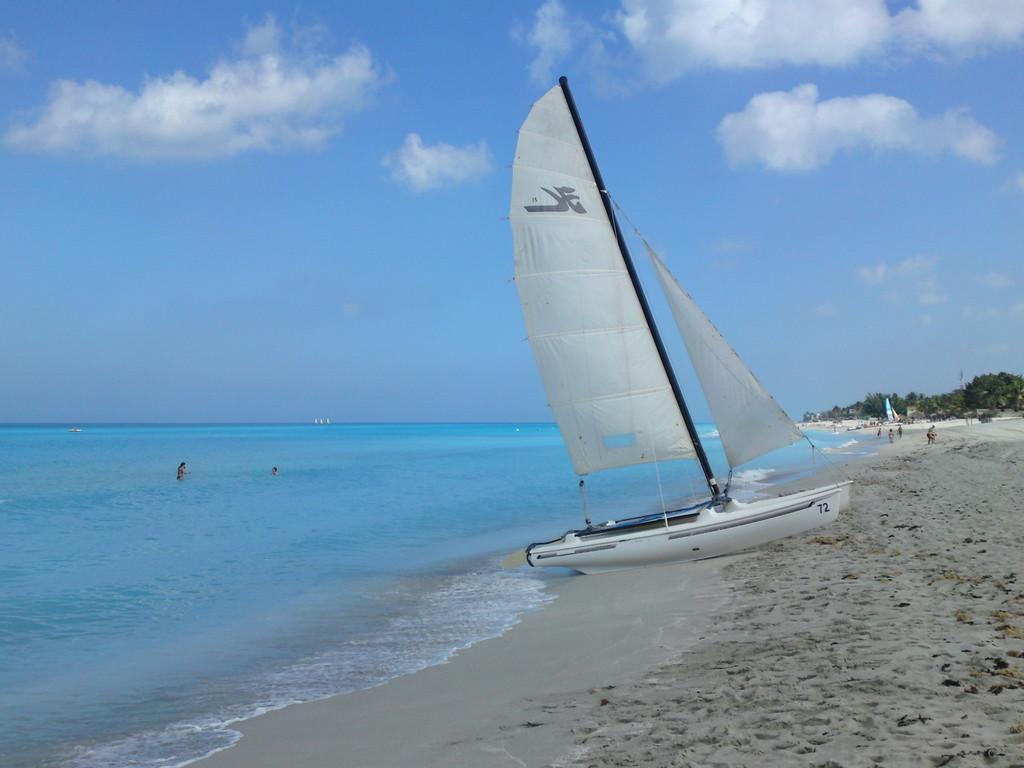Impression am Strand von Varadero