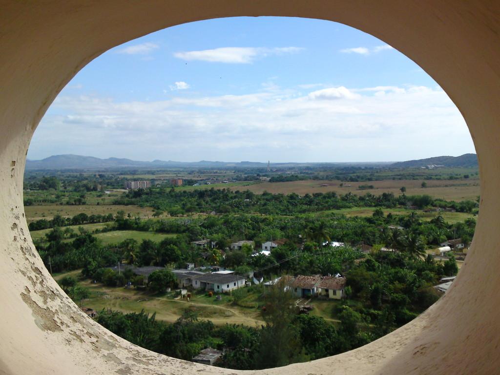 "Blick vom Aussichtsturm ""Valle de los Ingenios"""