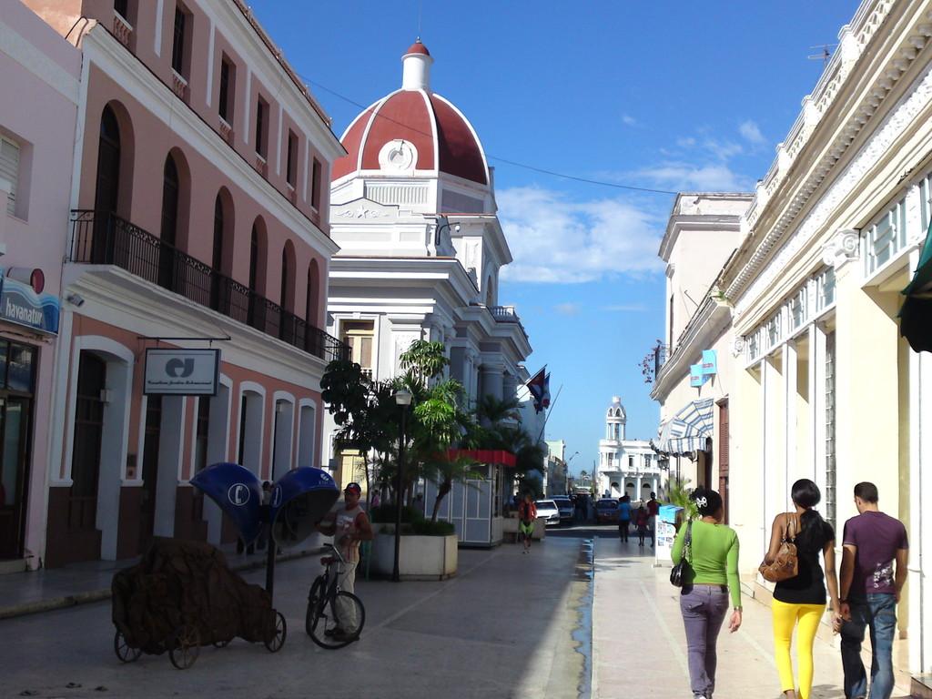 Stadtansicht in Cienfuegos