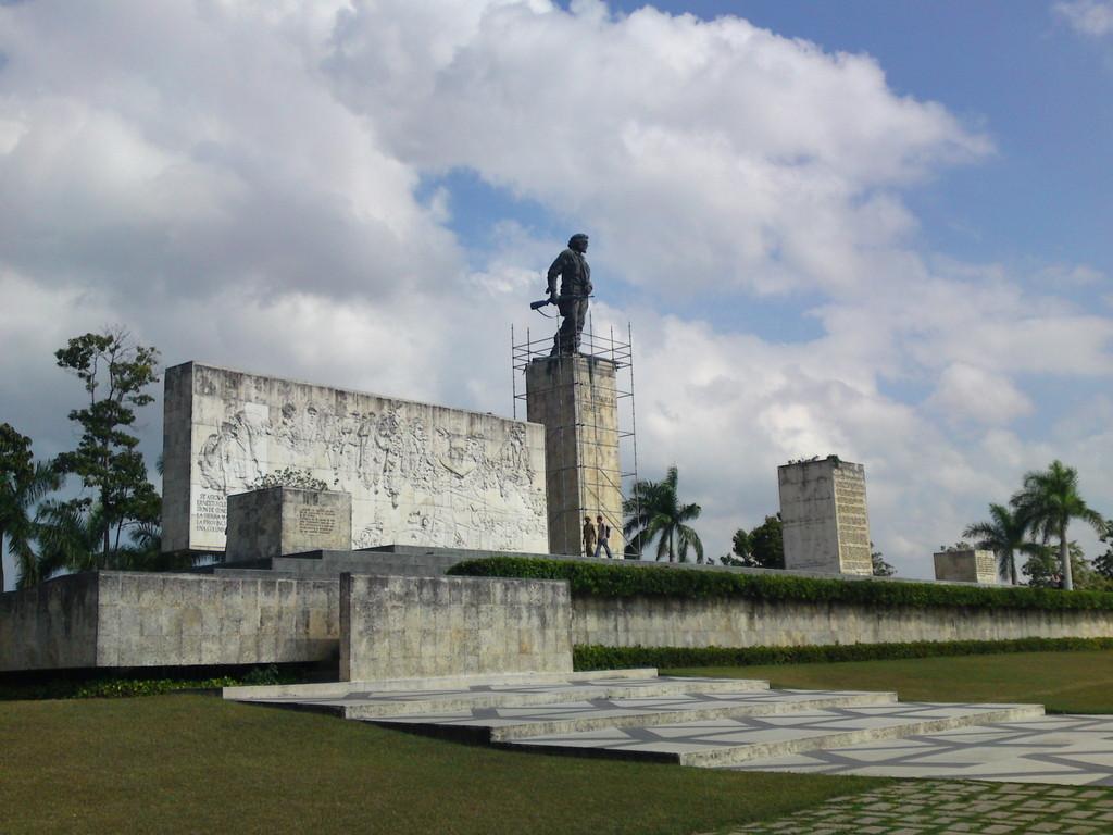 Gedankstätte von Che Guevara (Kubas Nationalheld) bei Santa Clara