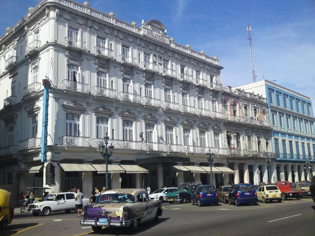 """Älteste Hotel """"Inglaterra"""" in Havanna"""