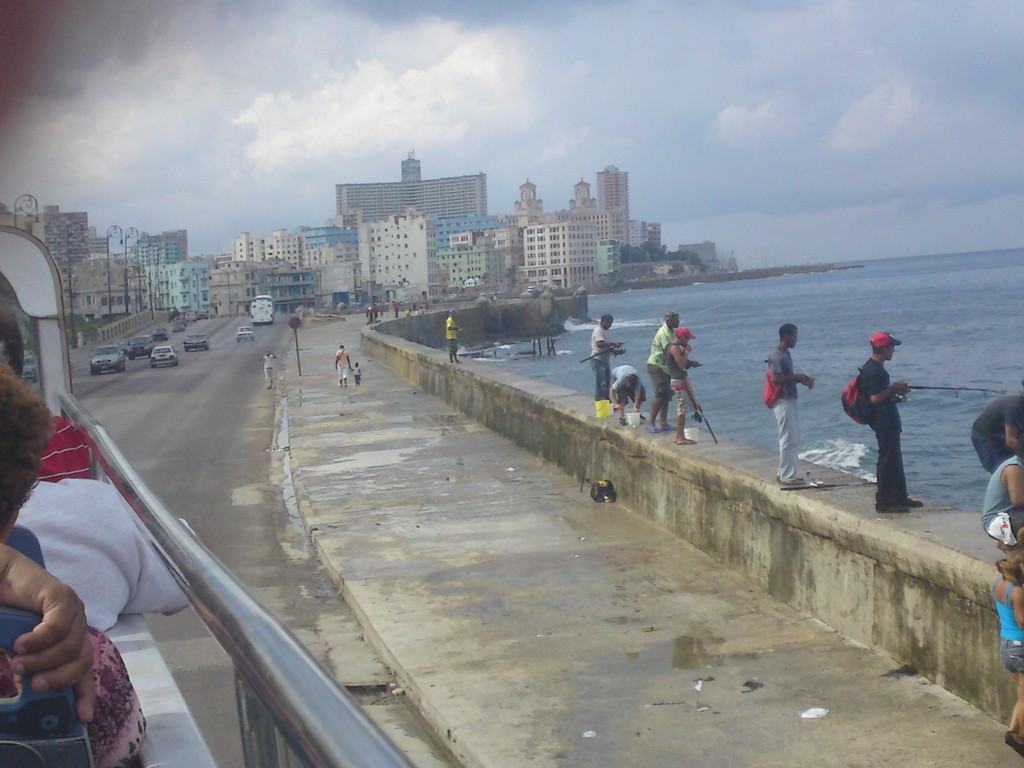 Uferpromenade in Havanna