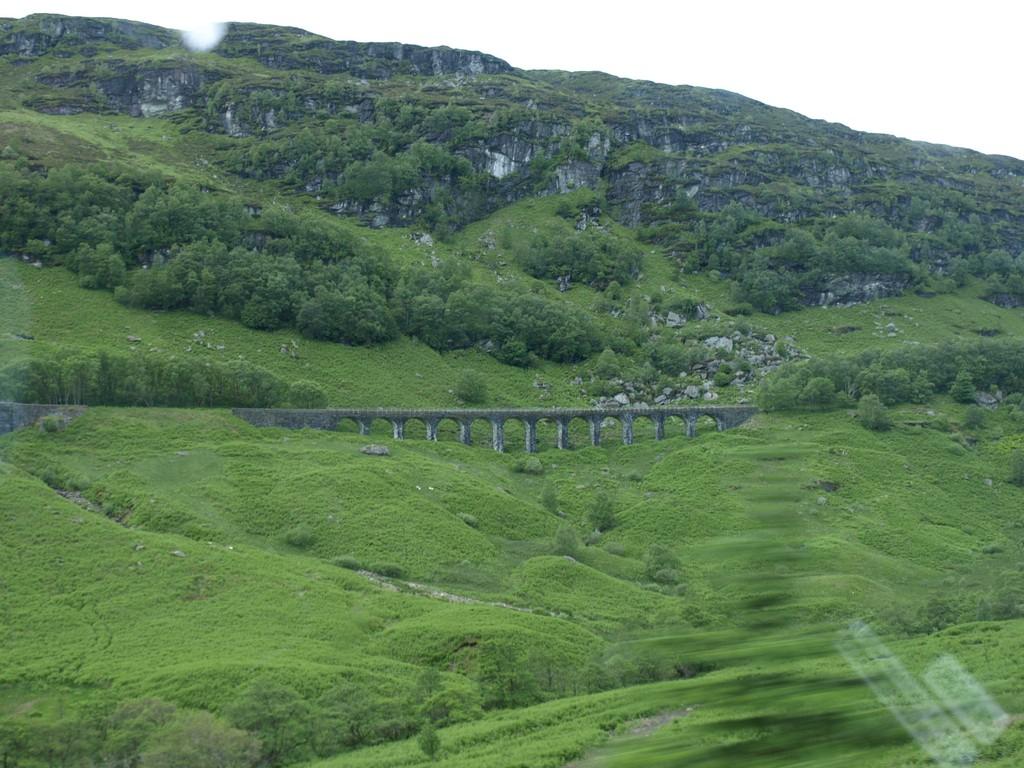 Fahrt durch die Highlands