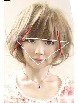 前髪 バング 髪型 逆三角 似合う 京都 美容室 calonhair カロンヘアー 小路