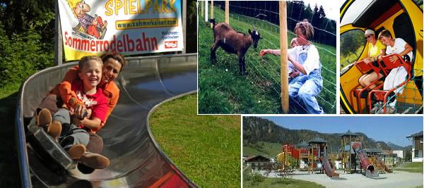 Spielpark Sommerrodelbahn Zahmer Kaiser