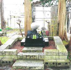 雄物川町の崇念寺のヴィクトル・スタルヒンの墓