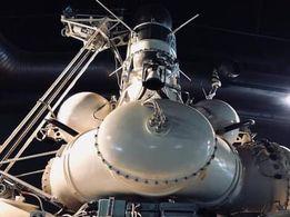 月の石を持ち帰った無人月探査機ルナ24号の予備機