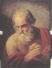 「聖ヒエロニムス」 グイド・レーニ(1575-1642)エルミタージュ美術館