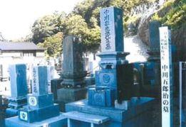 中川五郎治の親族の墓 函館