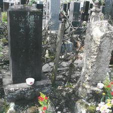 秋田宝塔寺の斎藤養達の墓