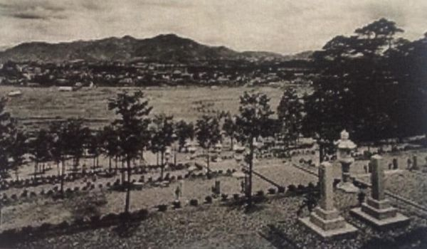 福知山ロシア人墓地
