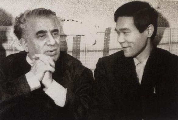 寺原伸夫とハチャトゥリアン(1966年2月)