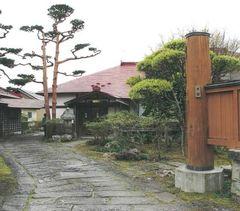木村謙斎子孫の邸宅(大館市)