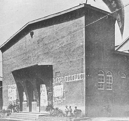 築地小劇場の建物