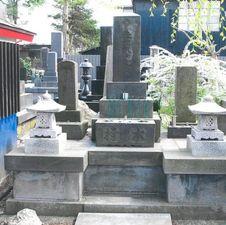 木村謙斎の墓(大館市)