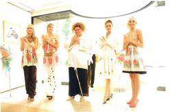 ロシア民族工芸展 ファッションショー(表参道)