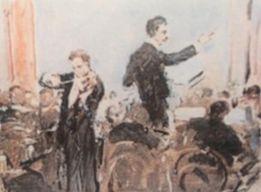 1910年ヴァイオリン演奏するモギレフスキー