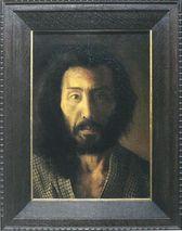 横山松三郎「自画像」
