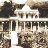 1880年頃の箱根塔ノ沢のロシア正教会避暑館