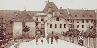 Torbogen Wangen um Jahr 1908, SVP Wangen an der Aare und Umgebung