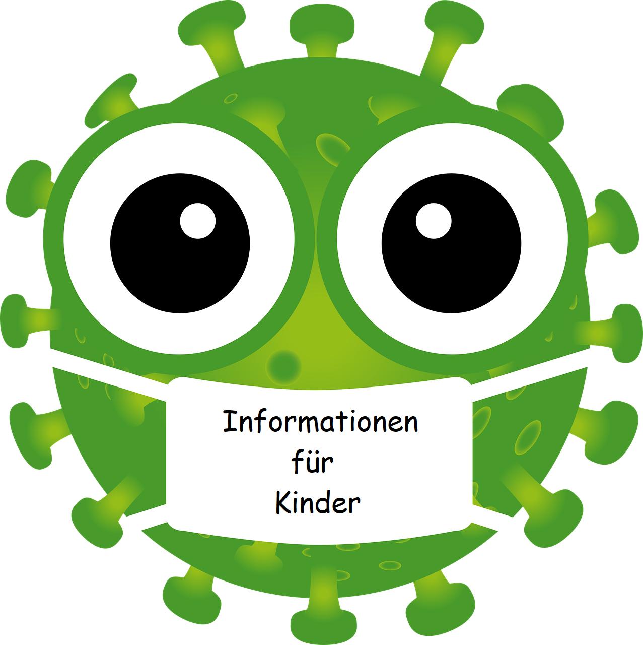 """Informationen für Kinder - rund um """"Corona"""""""