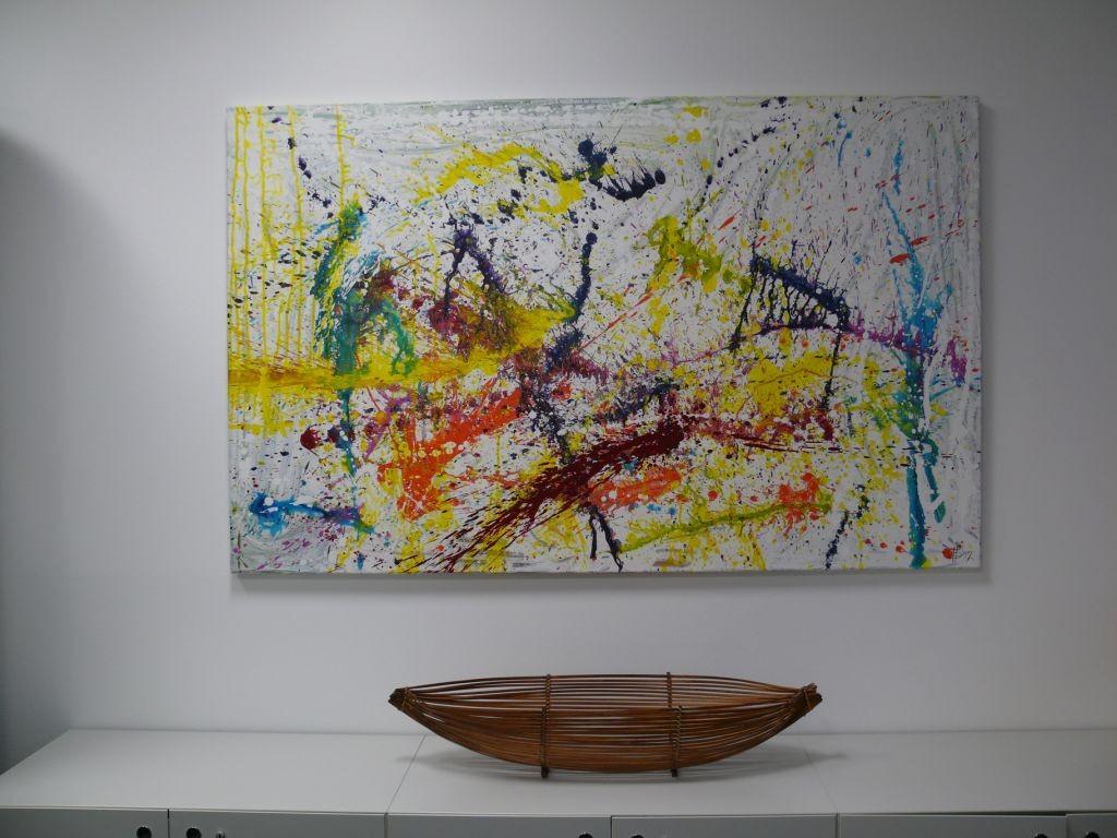 Einzug, 160 x 100, Acryl 2012