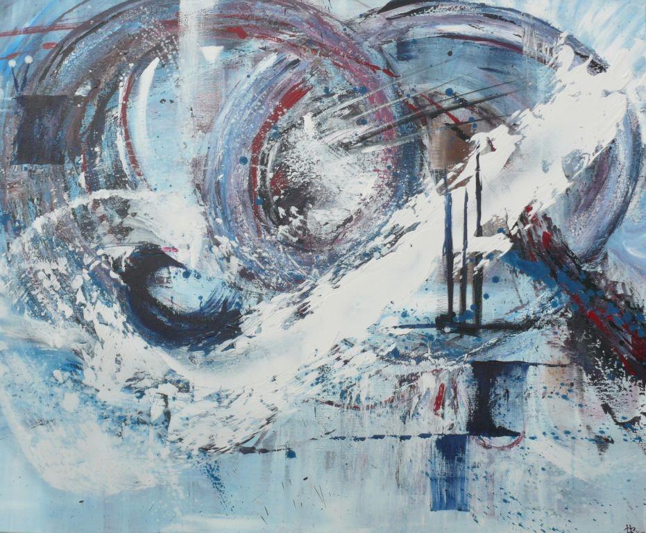 H. 110 x 90, Acryl 2012