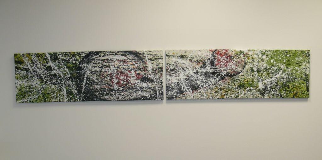 Ziel, 240 x 40, Acryl 2012
