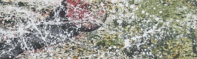 Ziel II, 120 x 40, Acryl 2012
