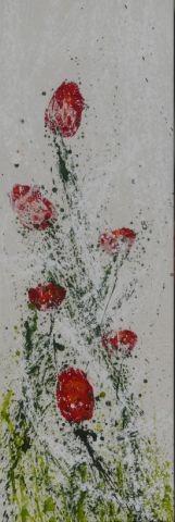 Tülpend, 40 x120, Acryl 2012