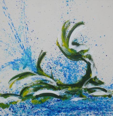 Tanz, 118 x100, Acryl 2012