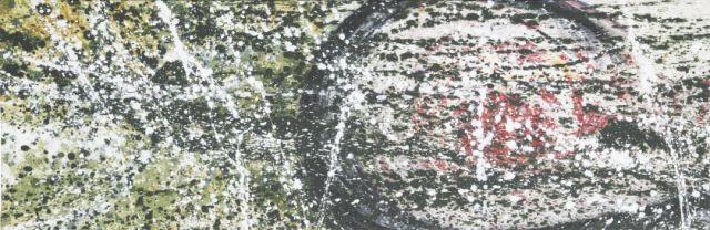 Ziel I, 120 x 40, Acryl 2012