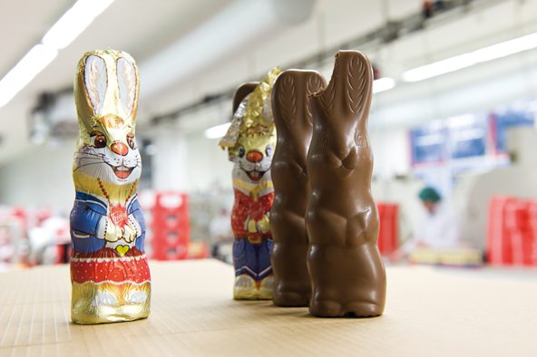 Rübezahl provides more than 50 countries with about 50 million chocolate bunnies. And the number keeps rising!