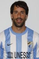 Ruud van Nistelrooy in Malaga shirt
