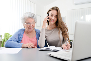 assistance administrative, assistance administrative à domicile