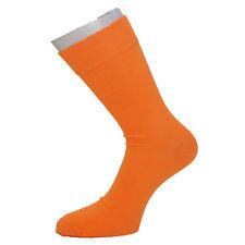 Herrensocken orange