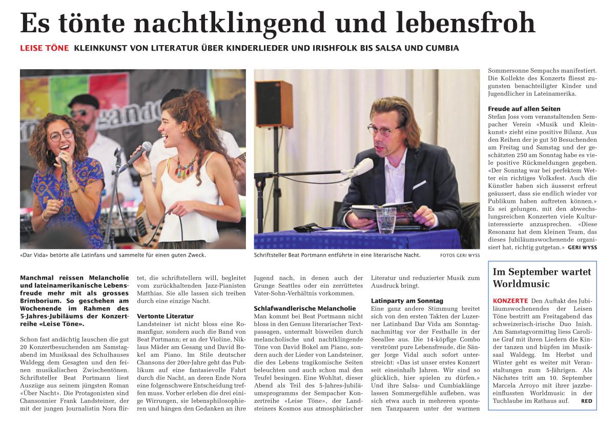 17. Juni 2021: SempacherWoche Rückblick (Artikel)