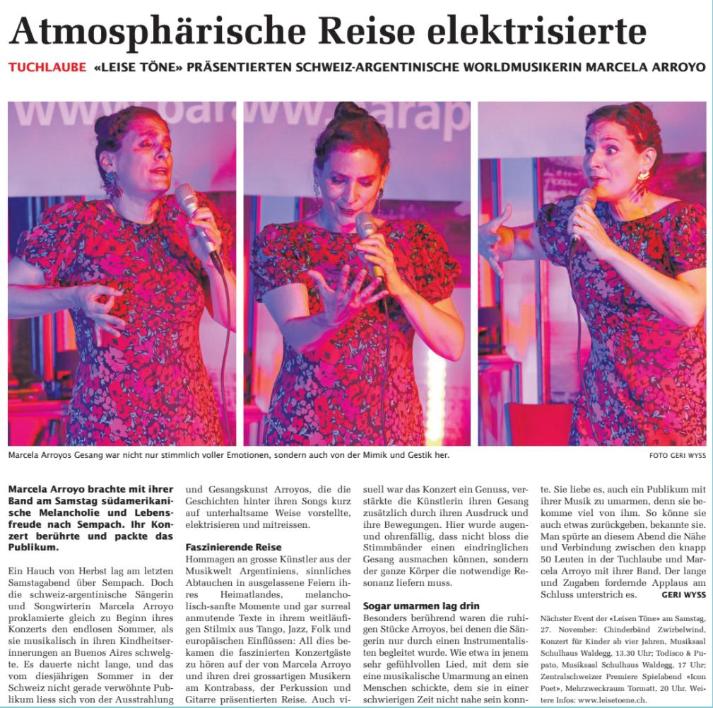 16. September 2021: SempacherWoche Rückblick