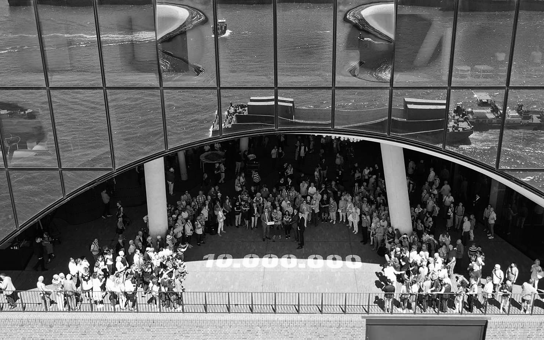 Elbphilharmonie Hamburg - Stencil