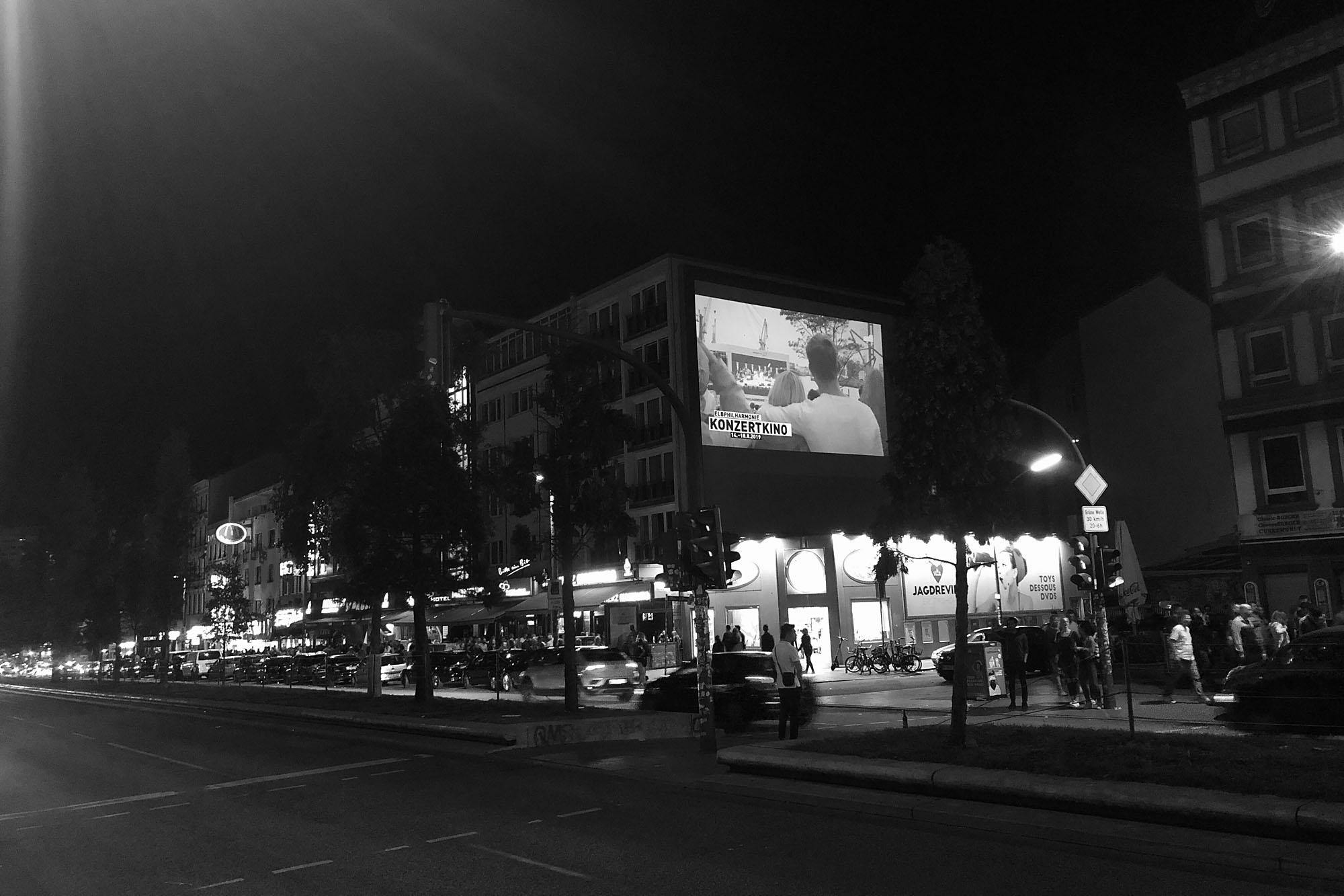 Elbphilharmonie Hamburg - Projektion