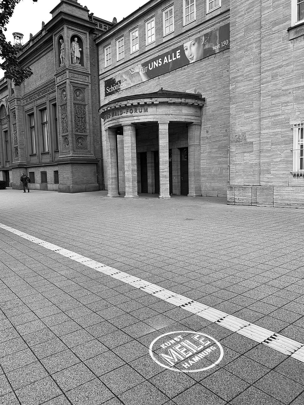 Kunstmeile Hamburg - Stencil